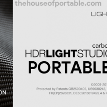 HDR Light Studio Carbon 5.7 Portable