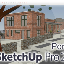 SketchUp Pro 2018 Portable +V-Ray 3.60.02 +Plugins [18.0.16975]