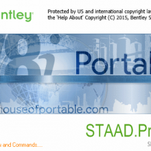 Bentley STAAD Pro V8i Portable (CONNECT Edition)
