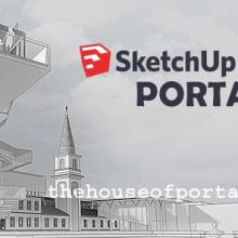 SketchUp Pro 2017 Portable +VRay 3.40.04 +Plugins [17.2.2555]