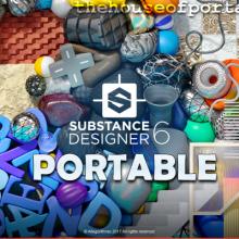Allegorithmic Substance Designer 6 Portable