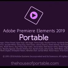 Adobe Premiere Elements 2019 Portable